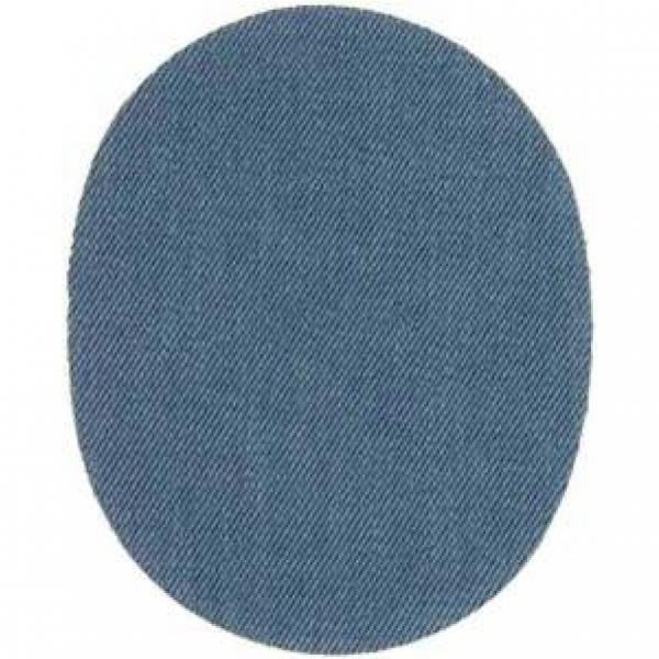 mono quick Flickstoff oval/Rechteck light blue
